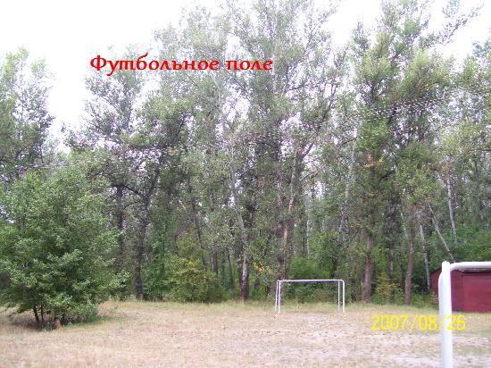 """Футбольное поле на базе """"Дубки"""""""