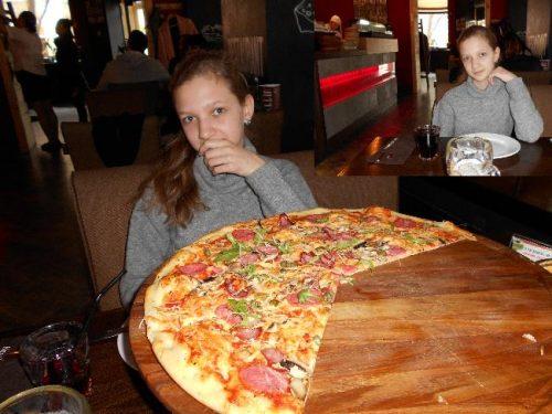В ресторане NYSP заказали большую пиццу!