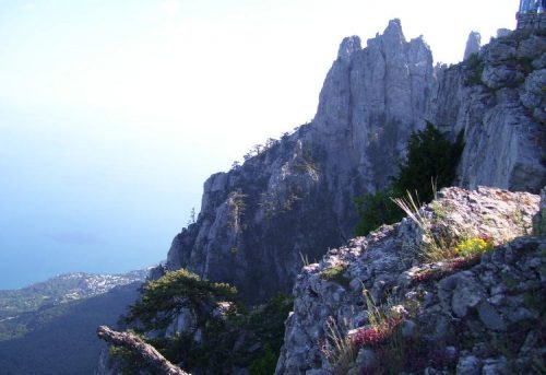 На горе Ай-Петри