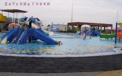 Детские горки в аквапарке