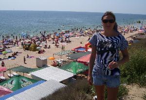 Кирилловка. Пляж