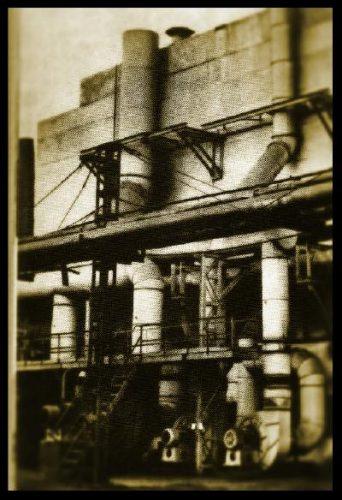 Газоочистительное сооружение литейного цеха