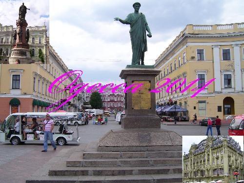 Одесса. Памятник Дюку де Ришелье