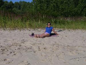 Песчаная коса на Зеленом острове