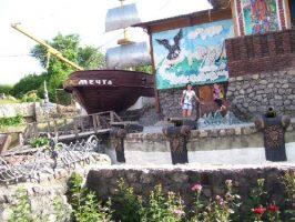 Морская тема в парке Лукоморье