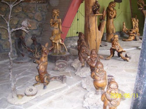 Сказочные персонажи Поляны сказок