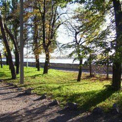 Дамба Приднепровского парка