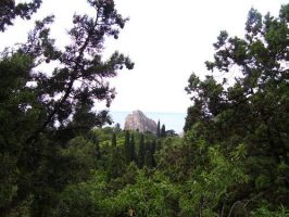Пейзаж Крыма -Дива