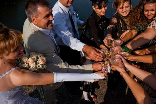 Гости на свадьбе Оксанки и Саши