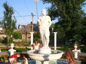 Скульптура в Затоке