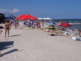 пляж на Азове