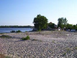 Пляж на Первом Занасыпе