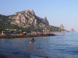 Пляжи Голубой бухты Симеиза