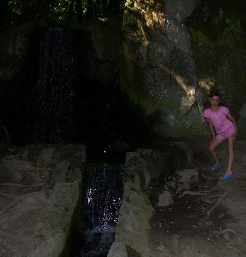 Водопады в Алупке