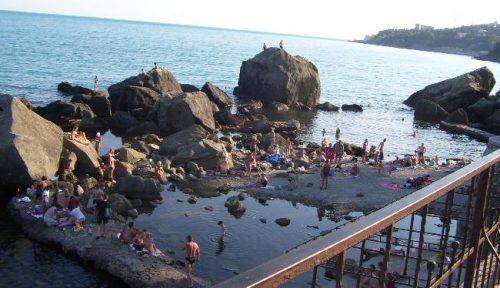 Пляж у Скалы Айвазовского