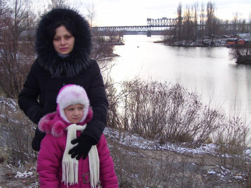 Зимой на Днепре