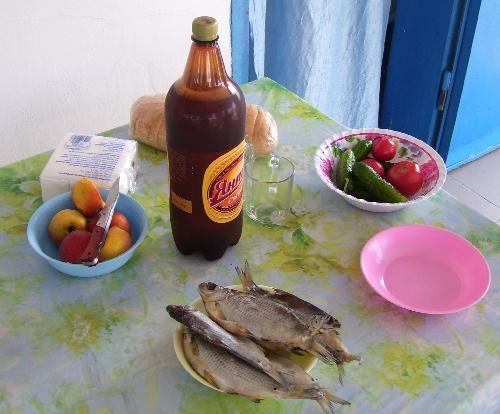 Рыбка с пивом