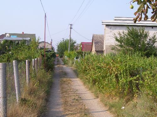 Дорога по улице Лиманской