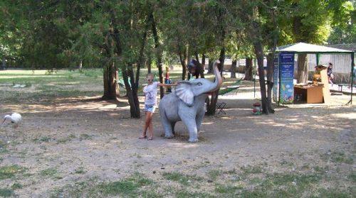 Зверинец в центре Одессы