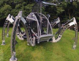 Электропривод, система автоматического управления шагающего робота