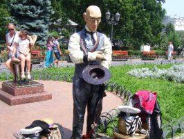 У фонтана на Дерибасовской
