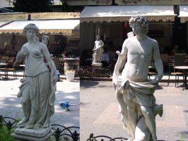 Статуи в Одессе