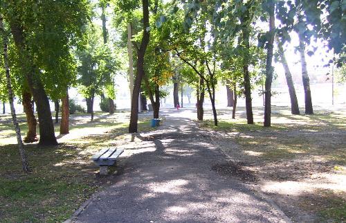 В Кременчугском парке