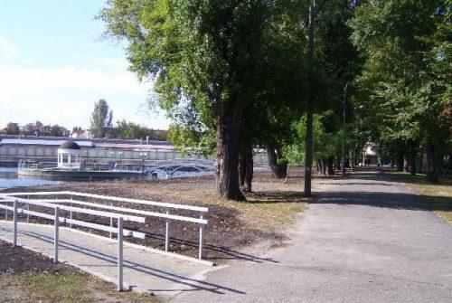 Озеро в Городском садду