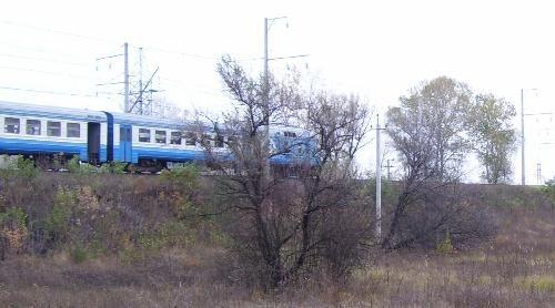 Дизель-поезд Кременчуг-Полтава
