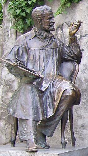 Статуя Коровина в Гурзуфе