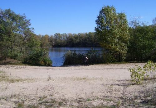 Озеро на 1-м Занасыпе в Кременчуге