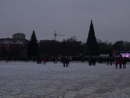 Зажжение елки в Кременчуге
