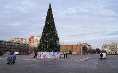 Городская елка