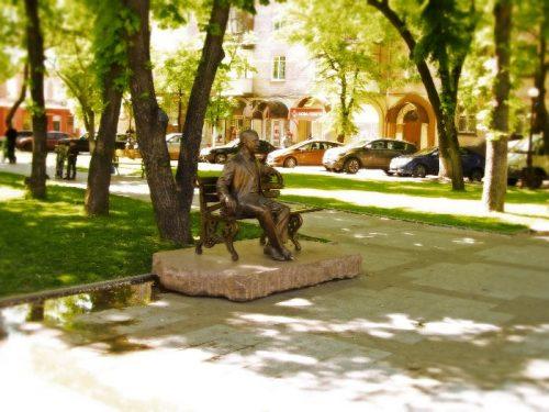 Скульптура Бабаева