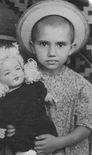 Сборник ретро фото. Девочка с куклой