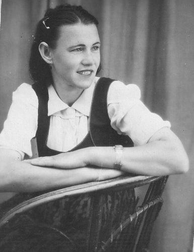 Сборник ретро фото. Девушка из Запорожья