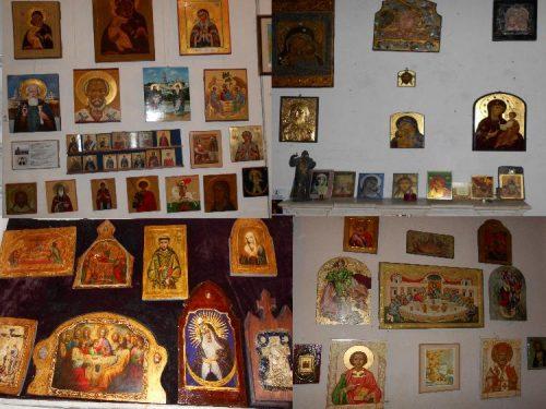 Иконы и сувениры в Киево-Печерской Лавре