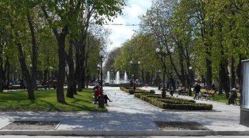 Октябрьский сквер(Бабаева). Фото