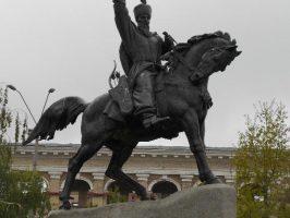 Скульптура на Контрактовой улице