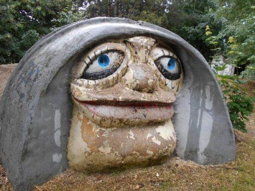Странноватая детская площадка в Сергеевке