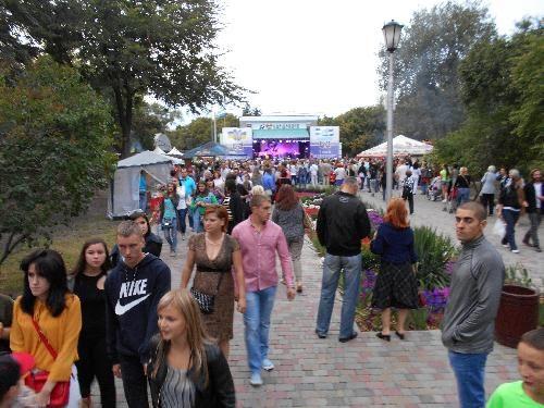 В Кременчуге прошел самый значимый праздник страны - 26-й День Независимости.