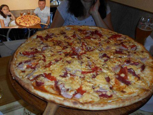 Пицца в доме Пиццы