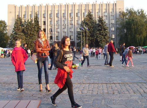Гулянье в Кременчуге
