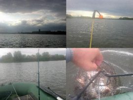 Вечерняя рыбалка в последний день лета. Отчет