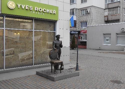 Памятник Бендеру