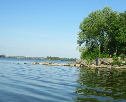 Рыбалка в районе г. Кременчуг