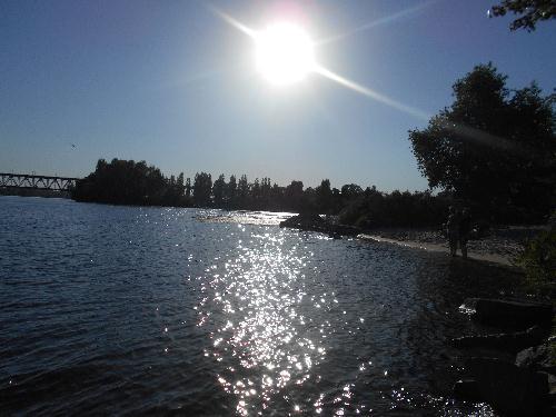 Пляж бухты Афины