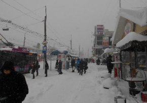 Снежный коллапс в Кременчуге