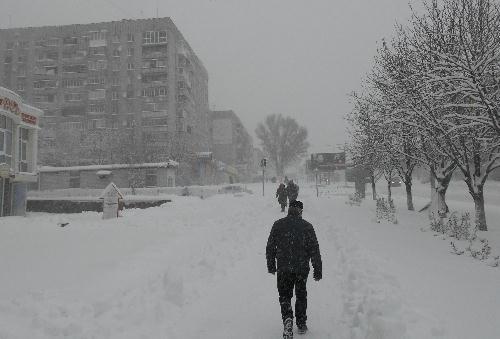 Кременчугский снежный коллапс