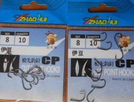 Китайские крючки. Подготовка к рыбалке 2019
